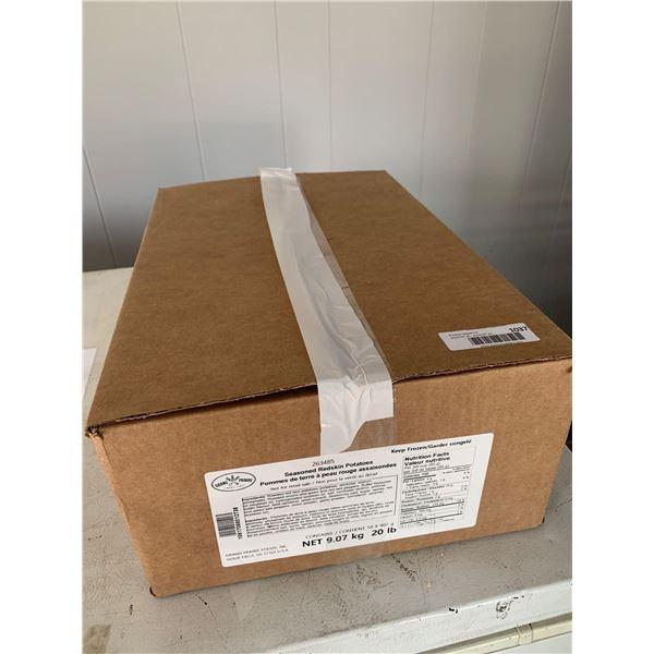 Case of Frozen Grand Prairie Seasoned Redskin Potatoes (9.07kg)