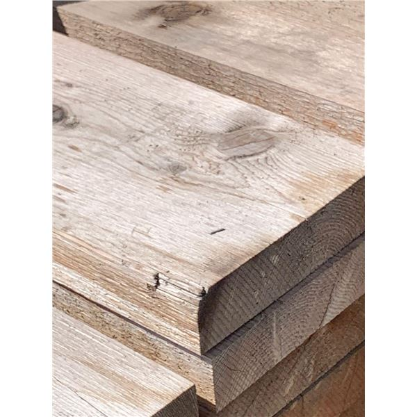 CEDAR BOARDS - Rough Value Grade slight weathered - LOT OF ONE- 2 in x 8 in x 20ft