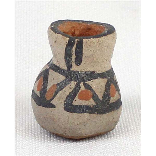 Miniature Native American Pottery Vase