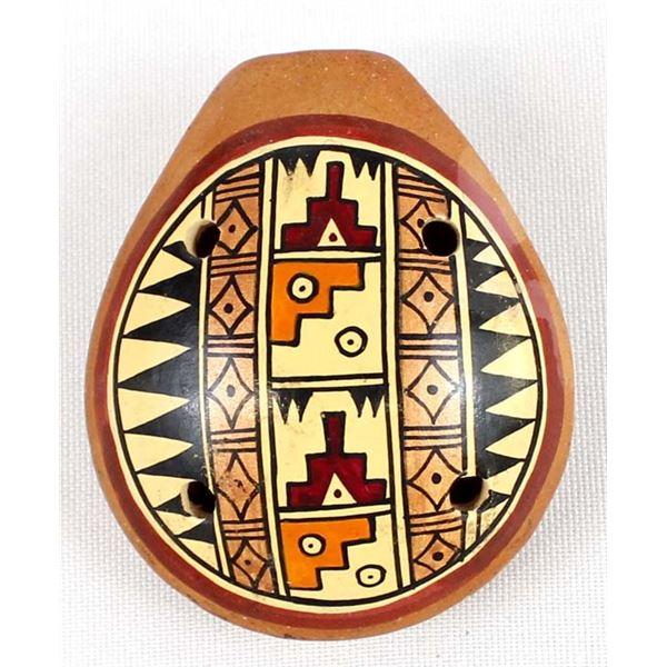 South American Pottery Ocarina