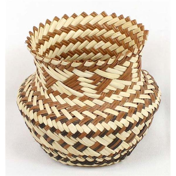 Tarahumara Copper Canyon Basket