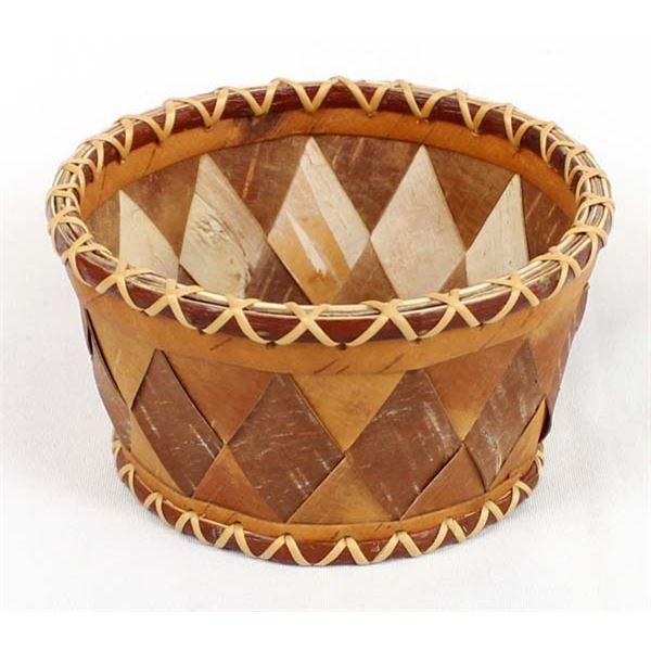 Alaskan Birch Bark Basket by Minnie Gray