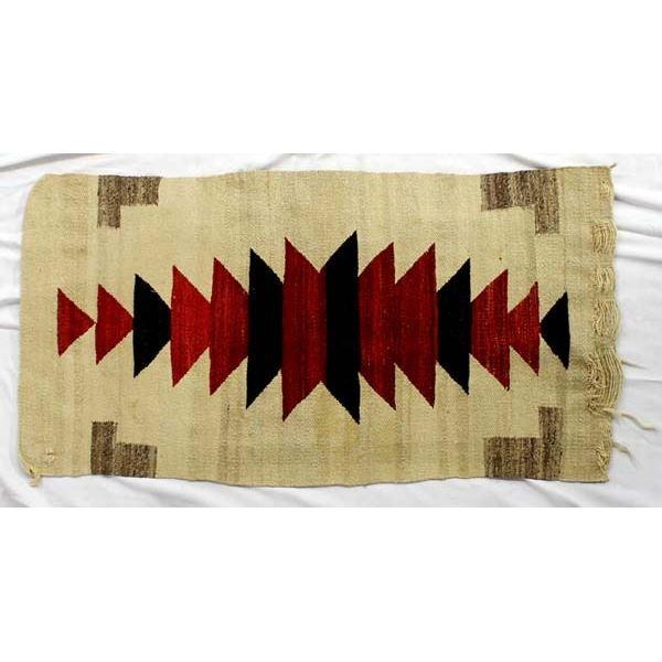 Vintage Native American Navajo Textile Rug
