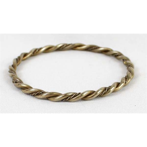Navajo Sterling Bangle Bracelet