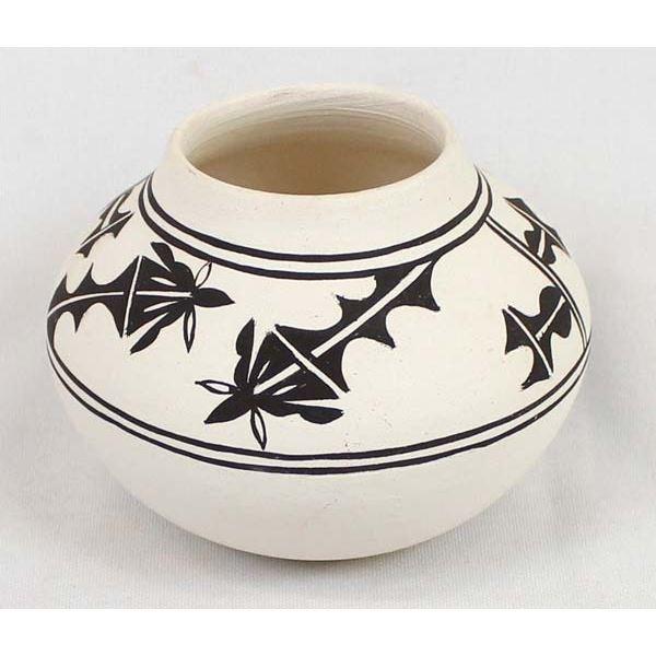 1976 Ysleta Del Sur Pueblo Pottery Jar by Rodela