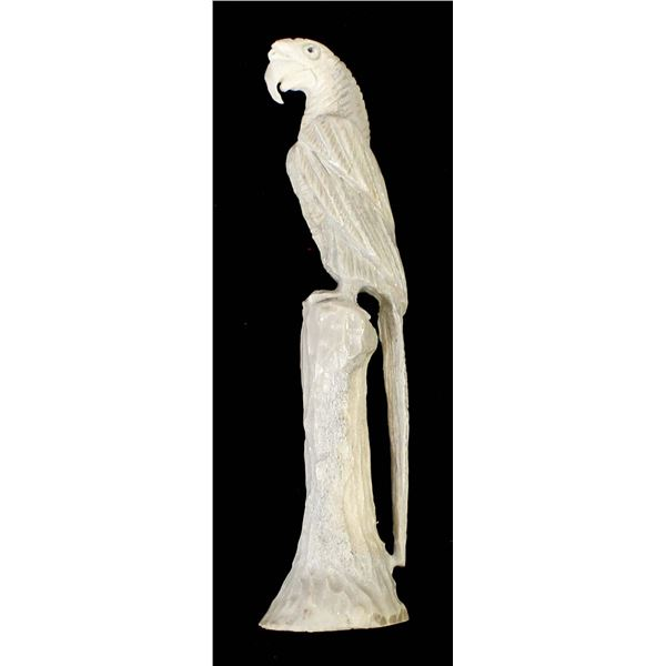 Zuni Antler Parrot by Pernell Laate