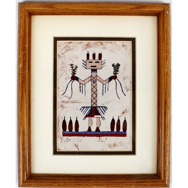 Limited Edition Batik Print by Dolores Smith