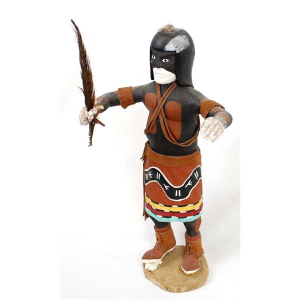 Vintage Hopi Snake Dancer Kachina, Leo LaCapa Jr.