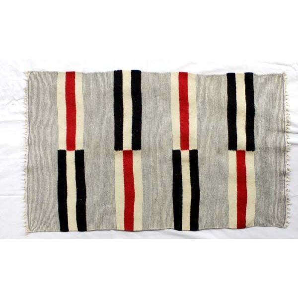 Mexican Fringed Wool Rug