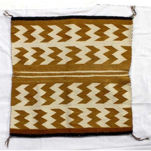 Vintage Navajo Germantown Textile Rug