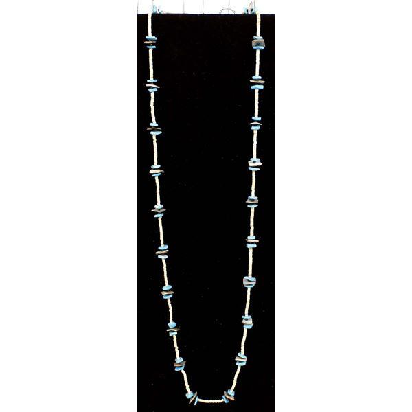Navajo Fine Heishi & Turquoise Necklace