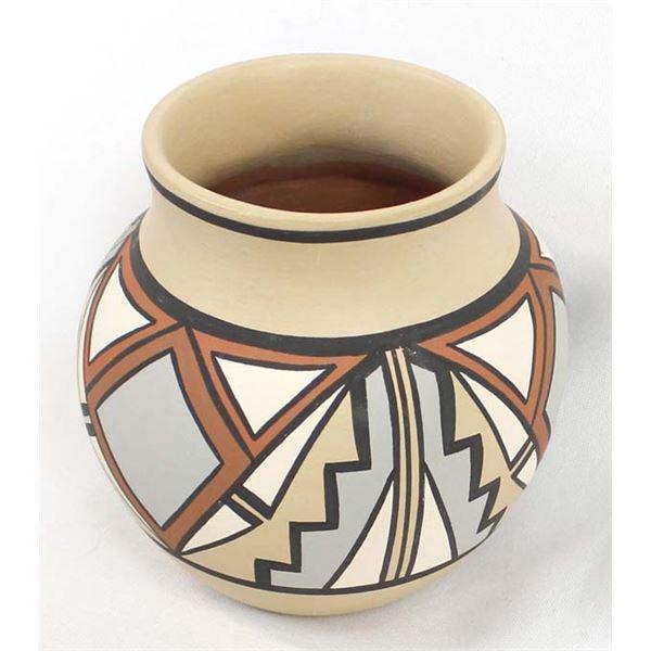 Pojoaque Pueblo Pottery Jar by J. & T. Talachy