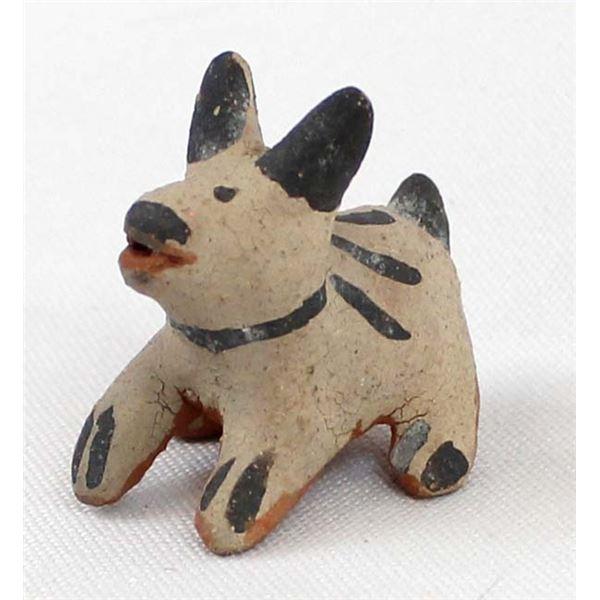 Cochiti Miniature Pottery Dog
