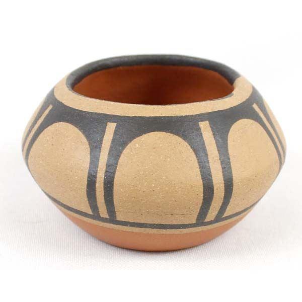 Santo Domingo Pueblo Pottery Bowl by Cheykaychi