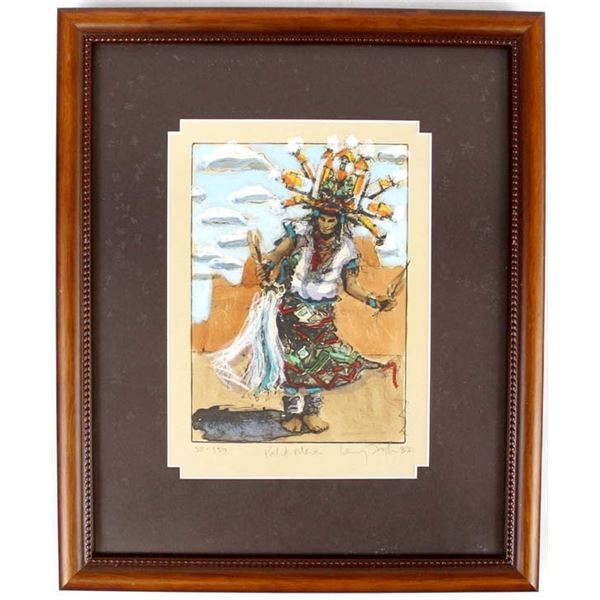 Palik Mana Lithograph by Larry Fodor #30/150