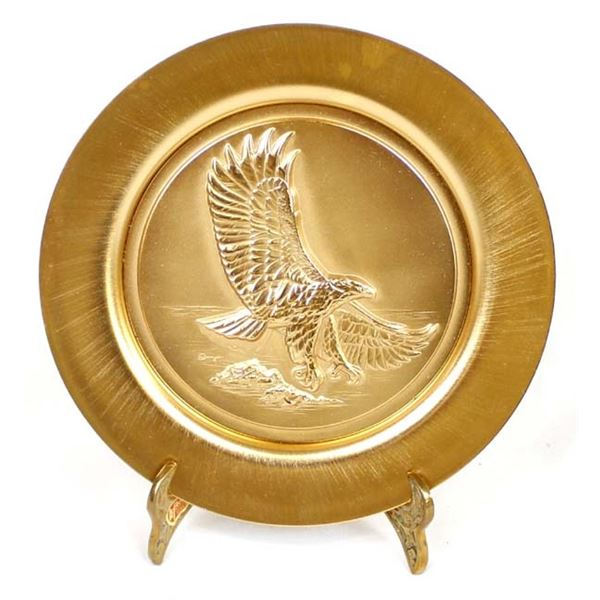 Freedom and Justice Soaring Plate & Stand