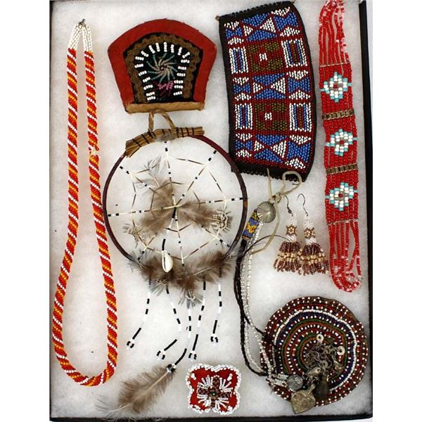 Native American and African Beaded Collectibles