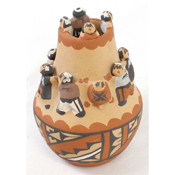 Jemez Friendship Pottery Jar by Caroline Sando