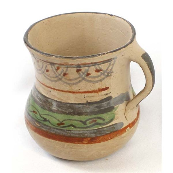 Historic Yaqui Indian Pottery Pitcher