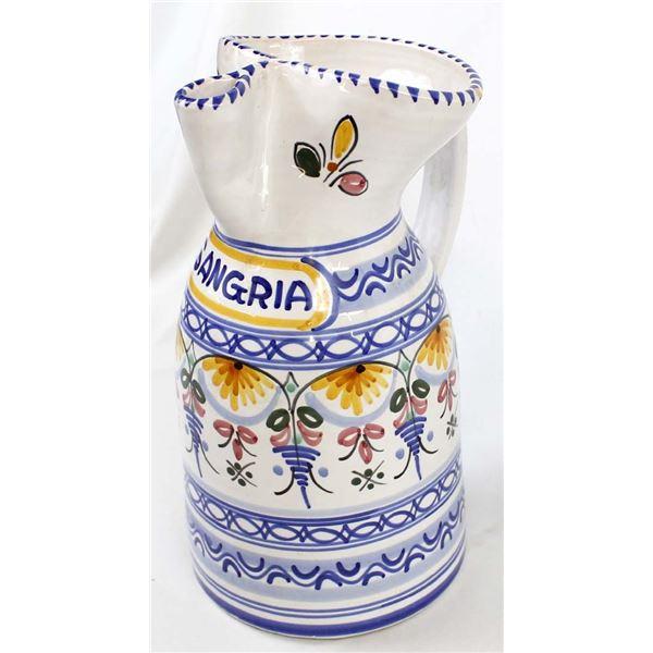 De La Cal Barreira Puente Spain Ceramic Pitcher