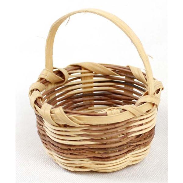 Cherokee Miniature Basket by Lucy Teasatoskie