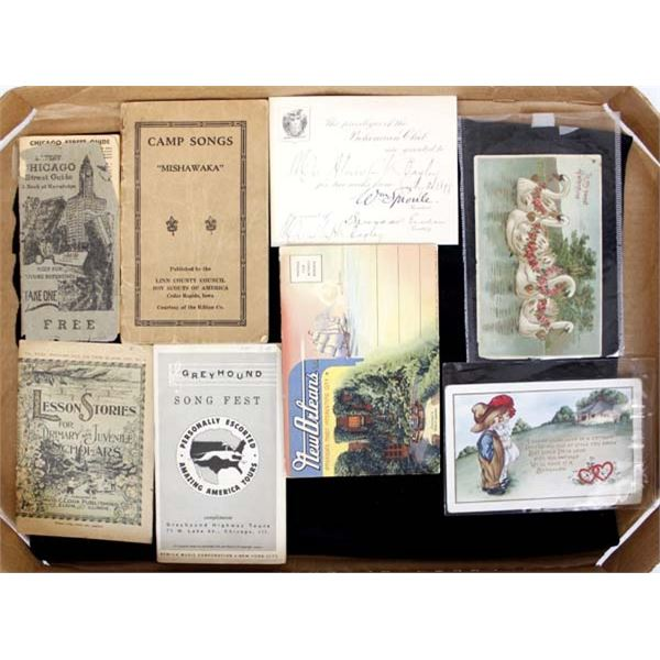 Antique Booklets and Postcards