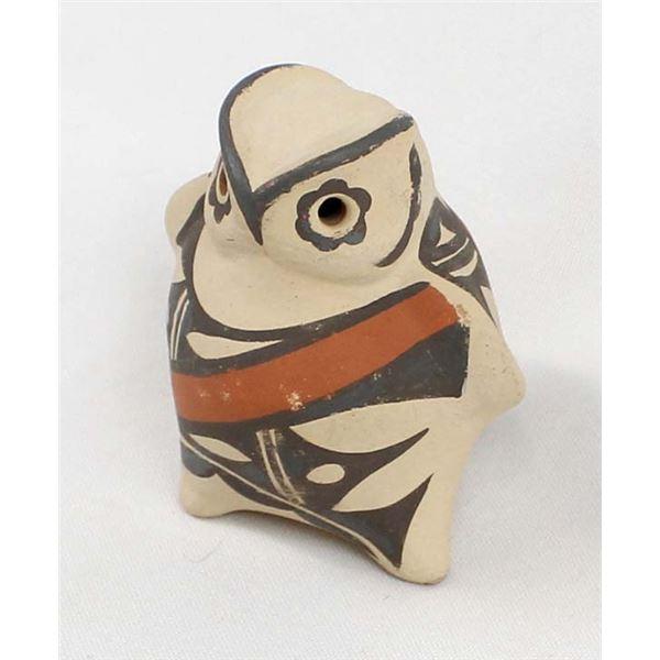 Jemez Pottery Owl by B. Yepa