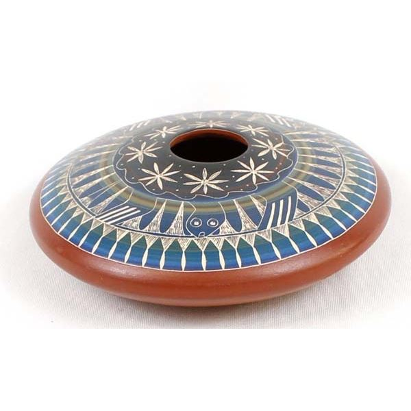 Ute Mountain Pottery Seed Jar by Norman Lansing