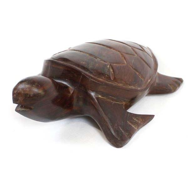 Genuine Carved Ironwood Sea Turtle
