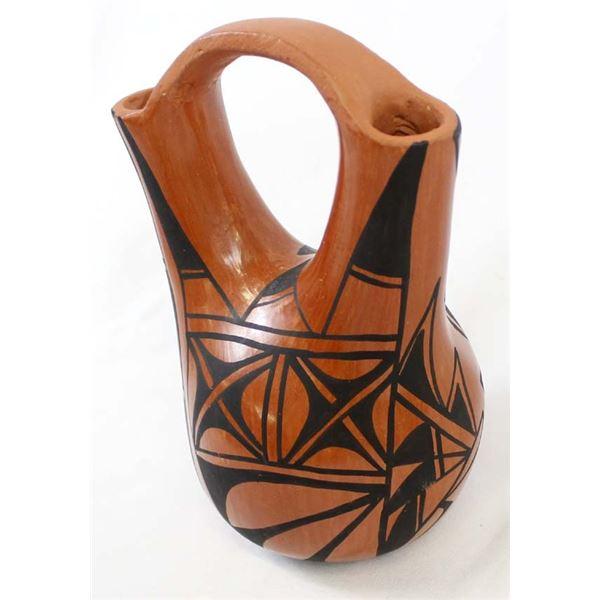 Jemez Pottery Wedding Vase by Chinana