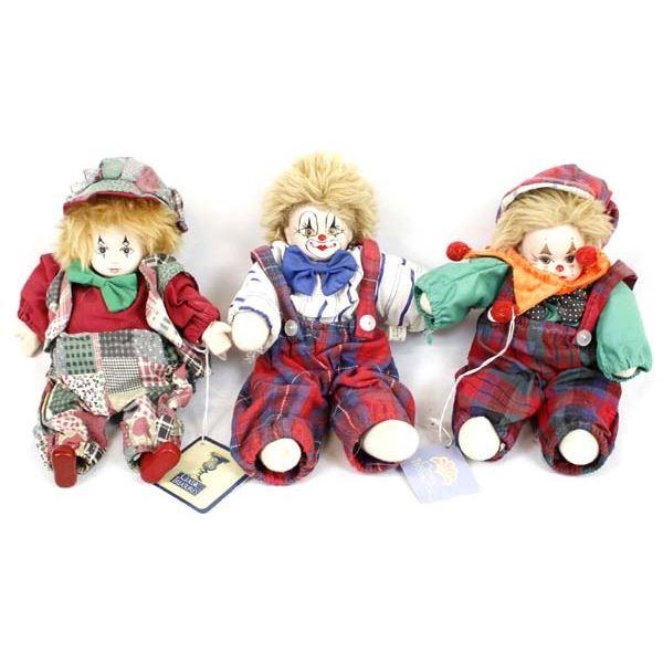 3 Classic Treasure Clowns