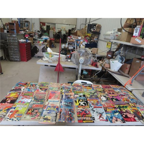 (WE)Approx 89 Vaious Comics - 30 Cents & Up