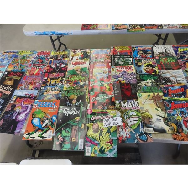 (WE) Approx 89 Various Comics - 30 Cents & Up