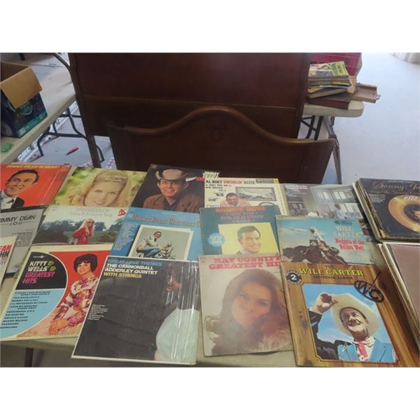 Approx 120 Country & Western Records
