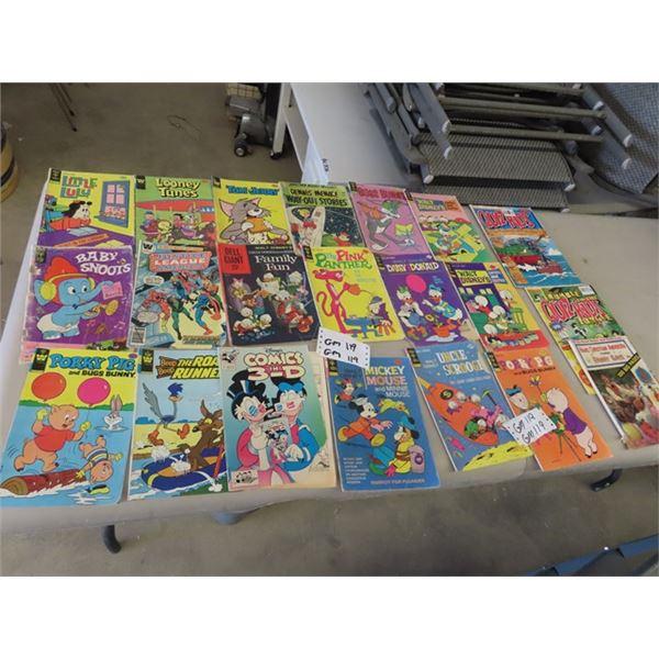 Approx 21 Comics 25 Cents & Up