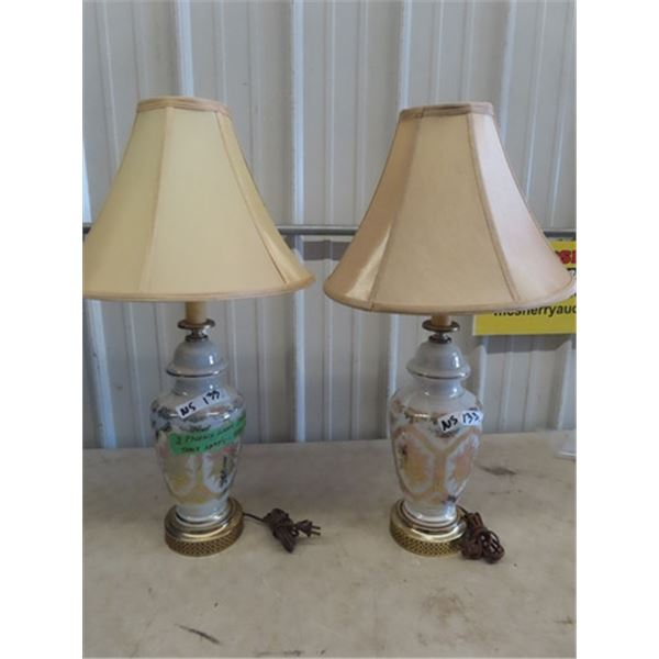 2 Matching Phonix Table Lamp