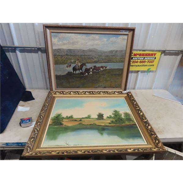 2 Paintings