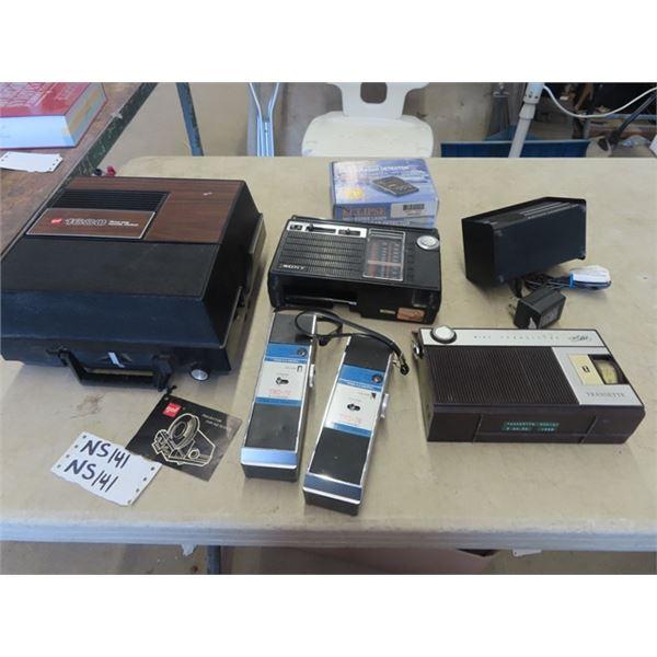 Transistor Radio, Projector, Safety Detector & More