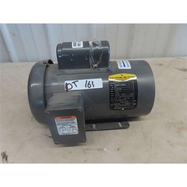 (DT) Balder 2 HP Elec Motor, - Believed to Be New