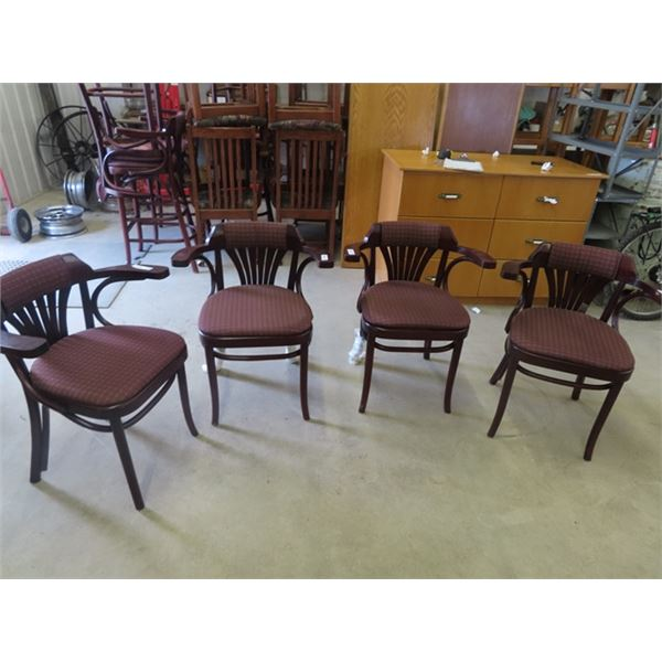 (EK) 4 Matching DR Chairs