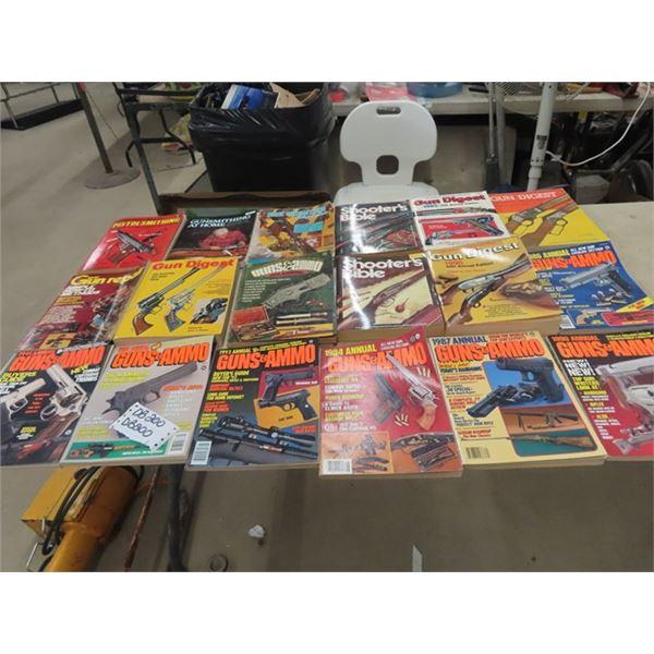 !8 Gun & Ammo Books
