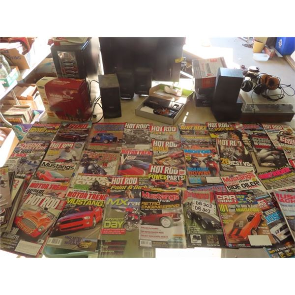 Approx 60 Hot Rod, Dirt Bike & Auto Mags