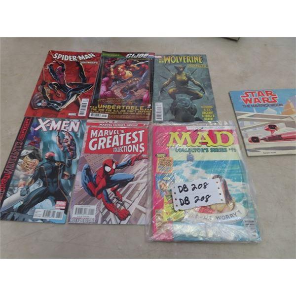 Various Comics Spiderman (Direct Edition) Xmen, GI Joe& More!