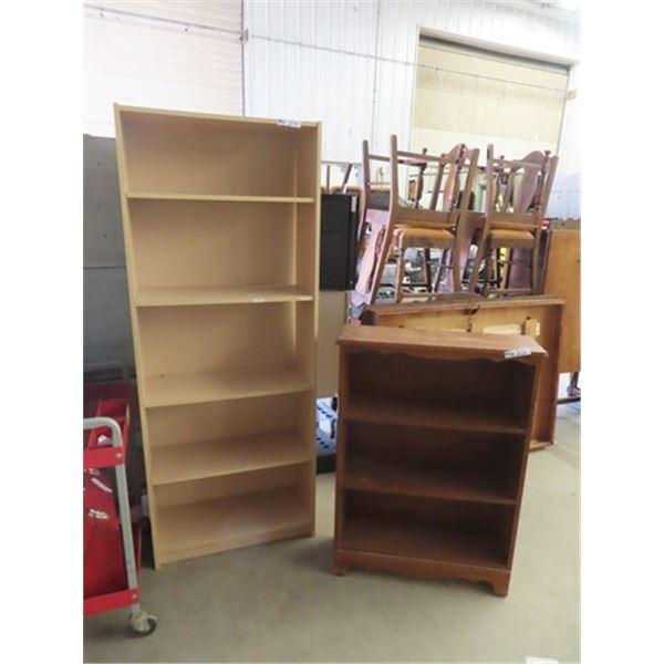 """(MN) 2 Open Shelves 1 is 72"""" x 28"""" x 12"""" & 1 is 41"""" x 30"""" x 10"""""""