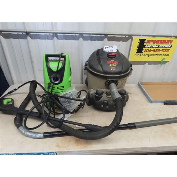 (MN) Shop Vac, Ultimate 1500 LB Elec Pressure Washer