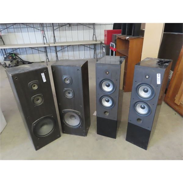 2 Sets Speakers