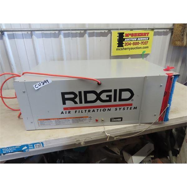 (CV) Ridgid Air Filtration System Mdl AE 3000