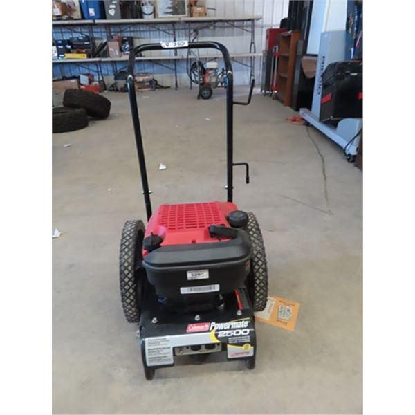 (CV) Colemam Powermate 2500 WATT Generator - Like New