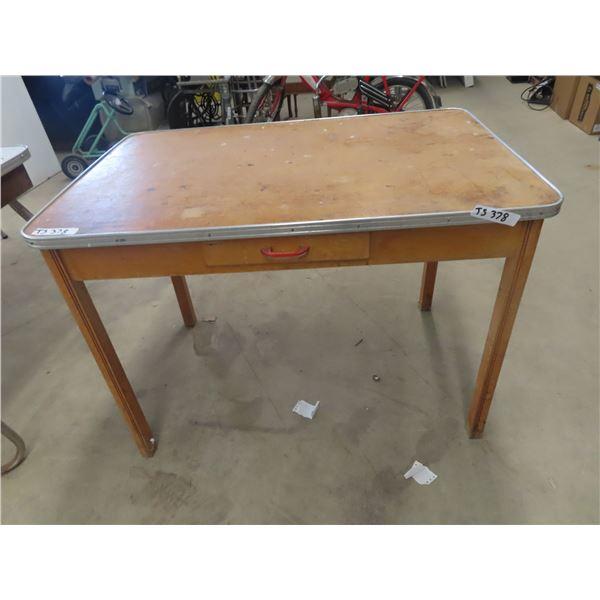 (TS) Table w Drawer