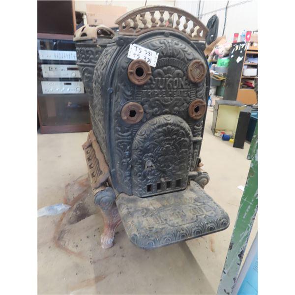 """(TS) Wooden Ornate Heater """"Yukon Triple Heater"""" 43"""" x 23"""" x 36"""""""